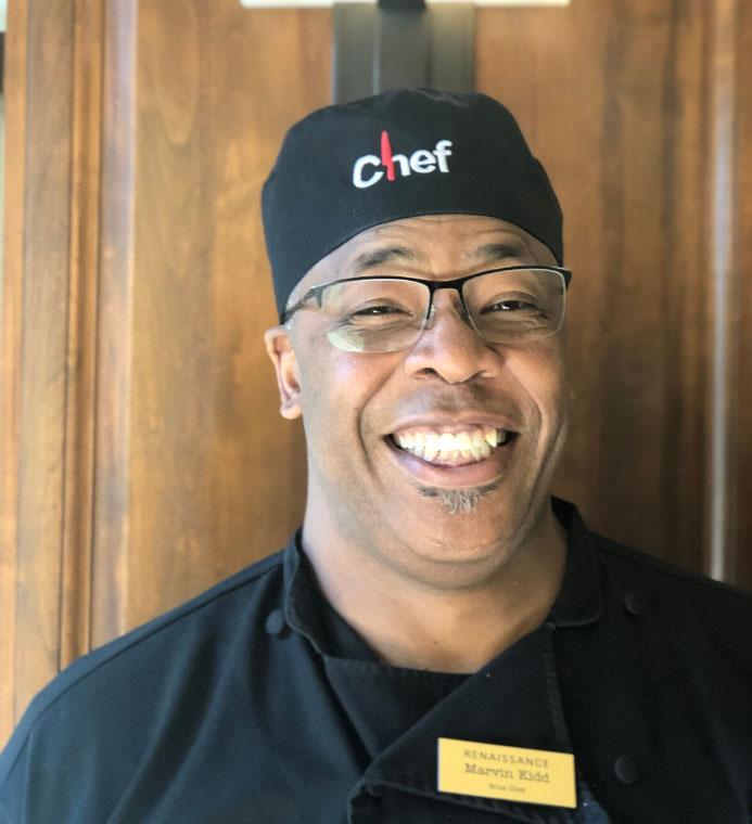 Chef Marvin Kid headshot